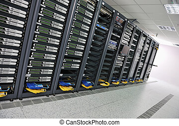 Sala de servidores de Network