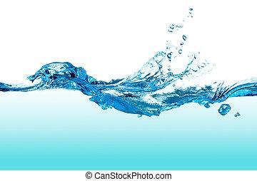 Salpicadura de agua.