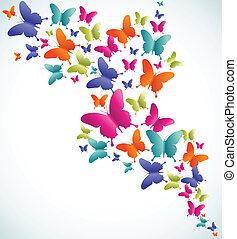 Salpicadura de verano Mariposa