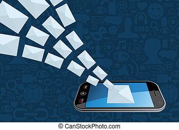 Salpicadura por correo electrónico