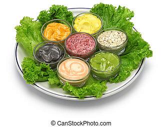 Salsa de mayonesa casera