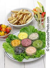 Salsa de mayonesa variada