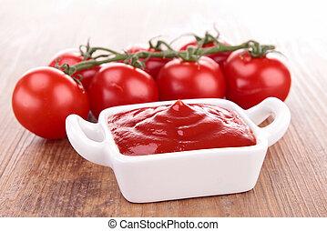 Salsa de tomate, ketchup