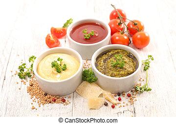 Salsa variada y salsa
