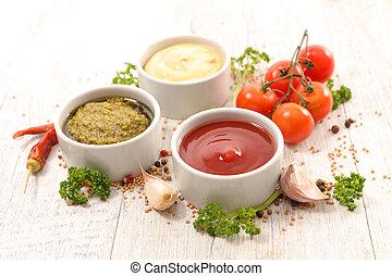Salsa variada y salsas