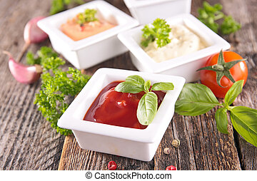 Salsa y salsa variadas