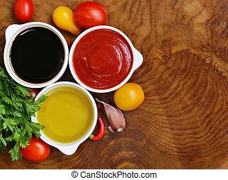 Salsas tradicionales italianas