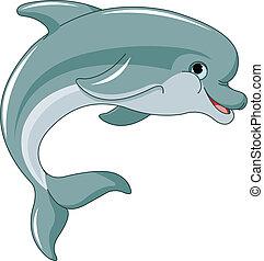 saltar, delfín