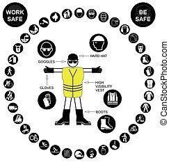 Salud circular negra y seguridad ic