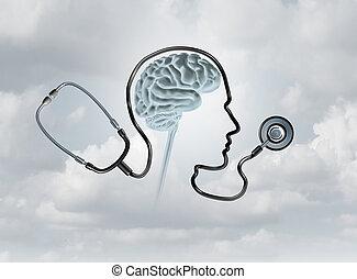 salud, concepto, mental