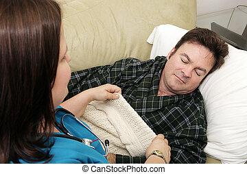 Salud en casa, hora de dormir