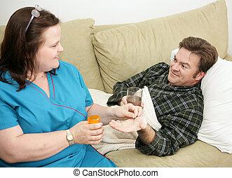 Salud en casa, medicación