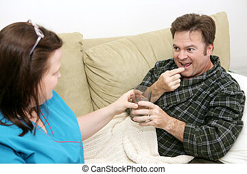 Salud en casa, pastillas