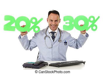 Salud en venta, 20 % y 30 %