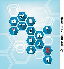 Salud y icono médico