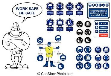 Salud y signos de seguridad