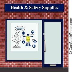 Salud y suministros de seguridad