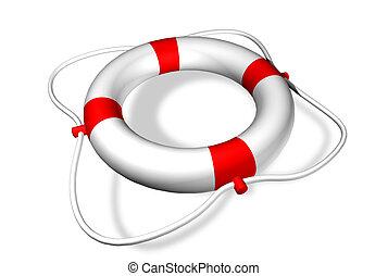 salvavidas, anillo