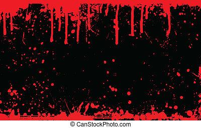 Sangre esparció fondo
