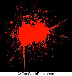 Sangre salpicada