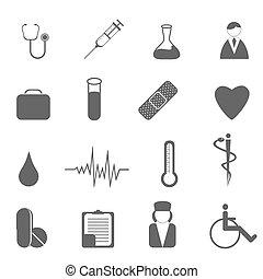 Sanidad y símbolos médicos
