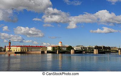 sankt-peterburg, arquitectura, ciudad