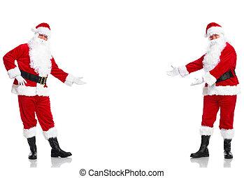 Santa Claus. Bienvenido.