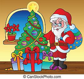 Santa Claus en la escena 5