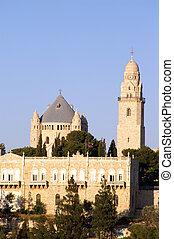 Santa iglesia en Jerusalén