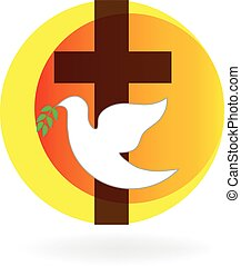 Santa paloma y cruz