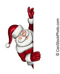 Santa parece estar al límite