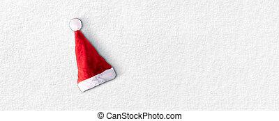 santa, sombrero de navidad