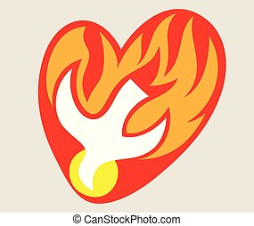 Santo espíritu, el logo del fuego