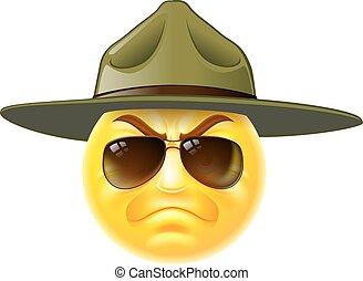 Sargento Emoji emoticono