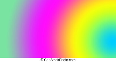 saturado, resumen, feliz, colores, vívido, colorido