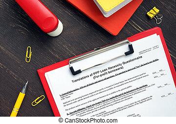 sba, 3509, (for-profit, cuestionario, ppp, necesidad, forma, borrowers), préstamo, translations
