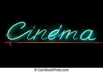 Señal de cine