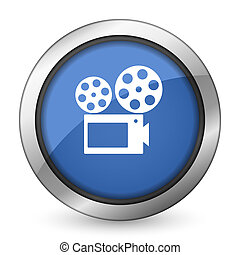 Señal de cine icono