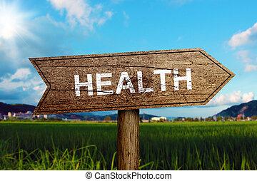 Señal de salud
