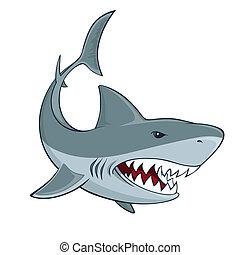 Señal de tiburón