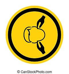 señal, eps.10, símbolo, ilustración, aislar, vector, ruido, plano de fondo, blanco