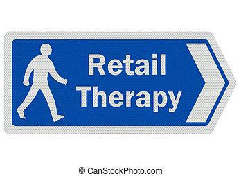 ', señal, foto, aislado, realista, therapy', blanco, venta al por menor