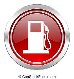 señal, gasolina, gasolinera, icono