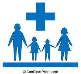Señal médica familiar