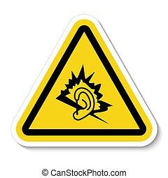 señal, símbolo, ilustración, aislar, vector, ruido, plano de fondo, blanco