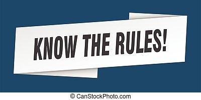 señal, saber, template., cinta, reglas, etiqueta, bandera
