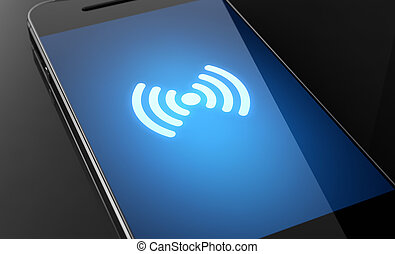 señal, strenght, wifi