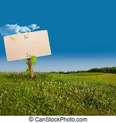 Señal verde, comunicación ecológica