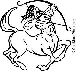 señales, centauro, zodíaco, sagitario