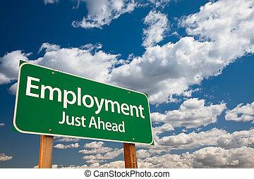 Señales verdes de empleo